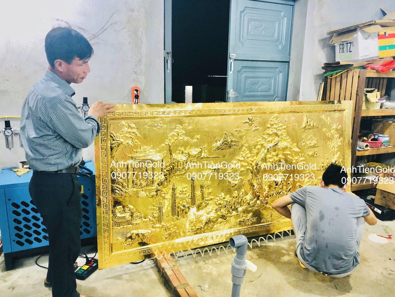 Quà tặng mạ vàng Nam Định - Anh Tiến Gold 24k