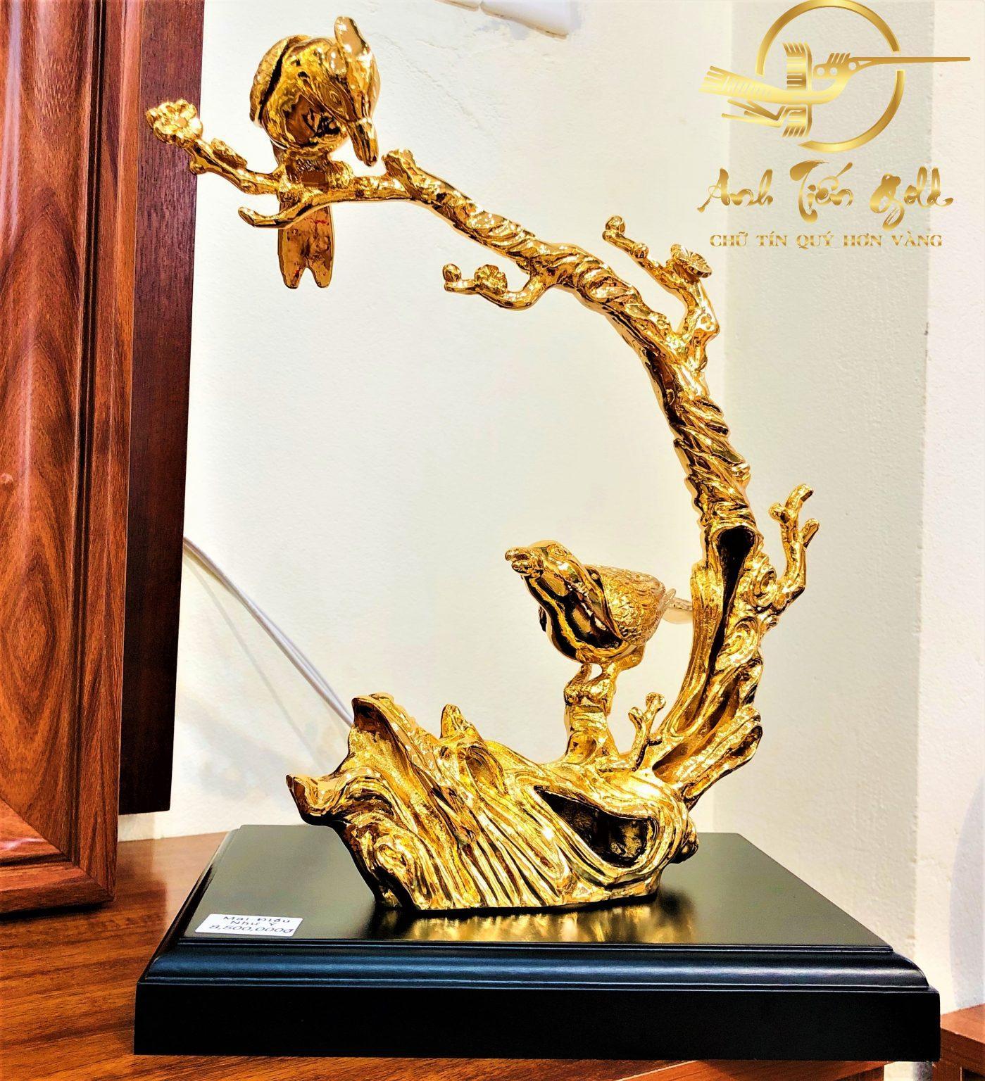 tượng phong thủy mạ vàng